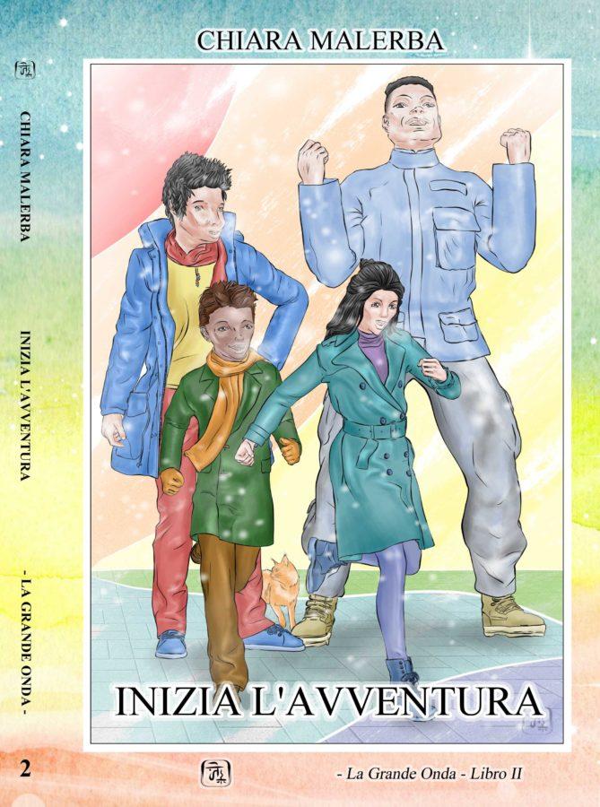 """Copertina del libro """"Inizia l'avventura"""""""