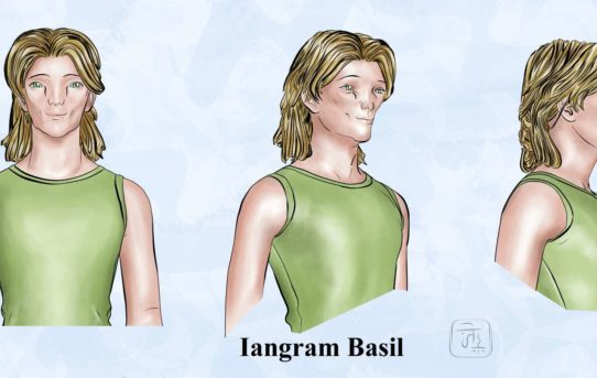 Iangram Basil la grande onda