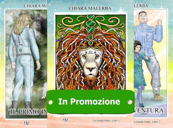 La grande onda, i primi tre libri della saga in promozione